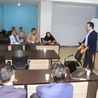 Fasa University of Medical Sciences International Affairs hosted Dr. Mohsen Khosravi, postdoctoral research scientist of Columbia University